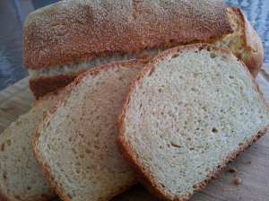 Delicious easy no knead sandwich loaf
